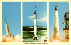 Project Mercury Launch Vehicles