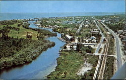 Air View Of Boca Grande On Gasparilla Island