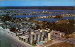 Air View O Beautiful Redington Beach Postcard