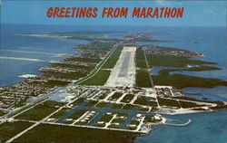 Aerial View Of Marathon And Airport