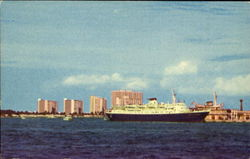 Port Everglades With High-Rise Apartments