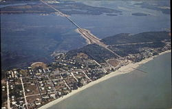 An Aerial View Showing Part Of Anna Maria Island, Manatee County