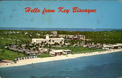 Key Biscayne Hotel And Villas Postcard