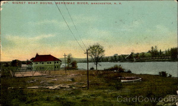 Signet Boat House Manchester New Hampshire