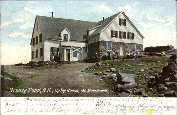 Tip Top House, Moosilauke Breezy Point New Hampshire