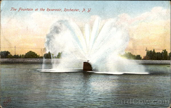 The Fountain At The Reservoir Rochester New York