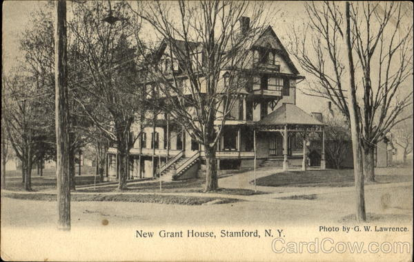 New Grant House Stamford New York
