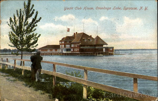 Yacht Club House, Onondaga Lake Syracuse New York