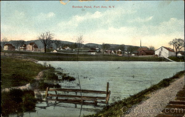Borden Pond Fort Ann New York
