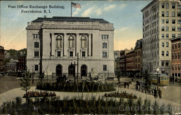 Post Office Exchange Building Providence Rhode Island