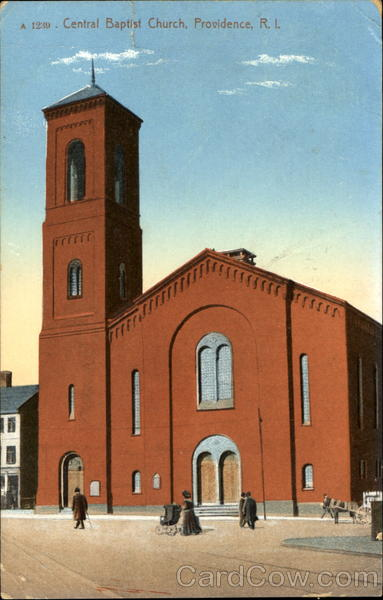 Central Baptist Church Providence Rhode Island