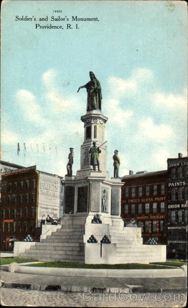 Soldier's And Sailor's Monument Providence Rhode Island
