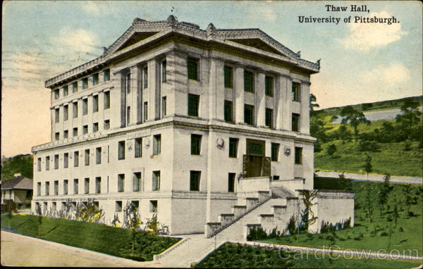 Thaw Hall, University Of Pittsburgh Pennsylvania