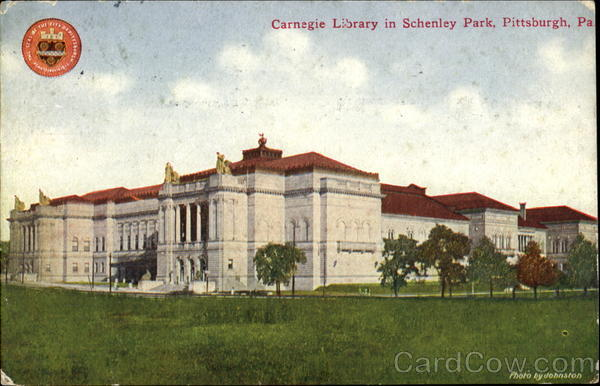 Carnegie Library In Schenley Park Pittsburgh Pennsylvania