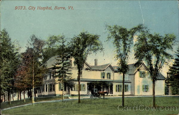 City Hospital Barre Vermont