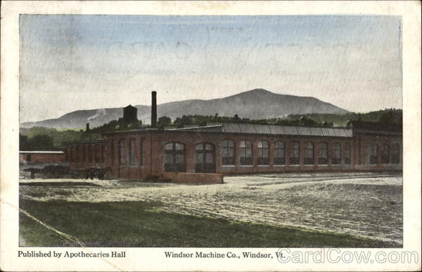 Windsor Machine Co. Vermont
