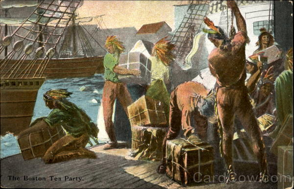 The Boston Tea Party Massachusetts