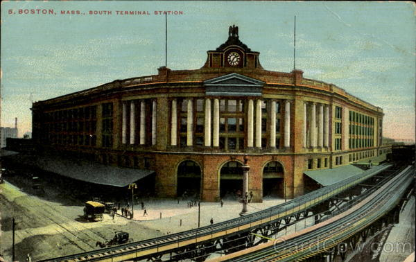 South Terminal Station Boston Massachusetts