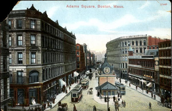 Adams Square Boston Massachusetts