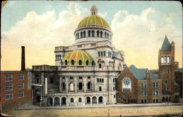 The Christian Science Church Boston Massachusetts