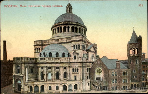 Christian Science Church Boston Massachusetts