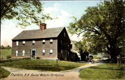 Daniel Webster Birthplace Postcard