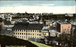 View Of Tilton N. H. From Arch Hill