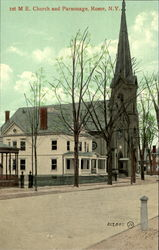 Ist M. E. Church And Parsonage