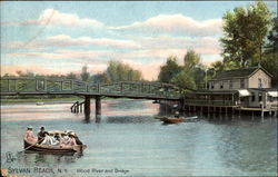 Wood River And Bridge