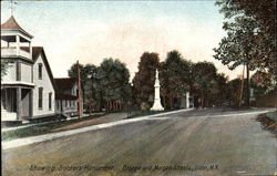 Showing Soldiers Monument, Otsego and Morgan Streets