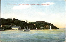 Looking North From Fort Henry Landing Postcard
