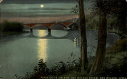 Moonlight On The Des Moines River