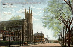Broadway And St. Mary's Church