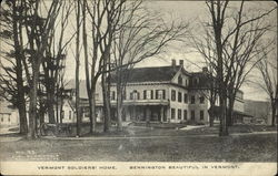 Vermont Soldiers Home Postcard