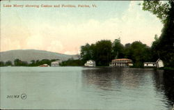Lake Morey Showing Casino And Pavilion