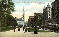 Tremont Street And Park Street Church