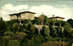 Public Library And Reading Room, Franklin Park