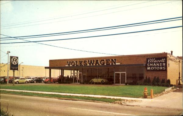 Ellacott Shaker Volkswagen Dealership Warrensville Heights Oh