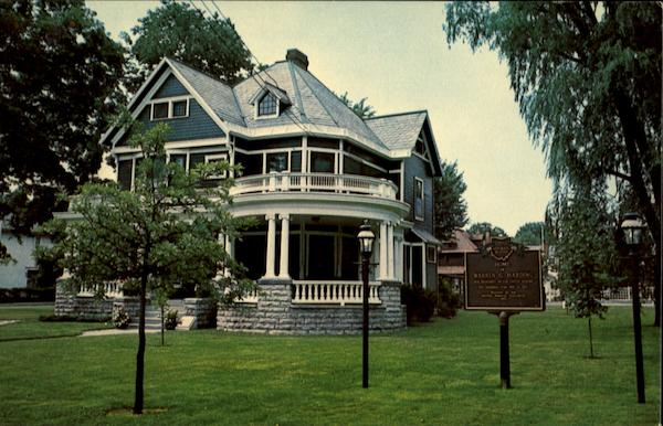 Marion (OH) United States  city pictures gallery : Warren G. Harding Home, 380 Mt. Vernon Ave. Marion, OH
