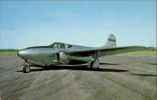 Bell P-59B Airacomet Fighter Ohio Aircraft