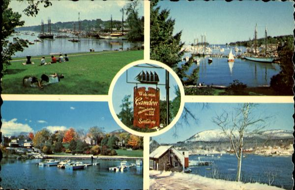 The Four Seasons Of Camden Harbor Maine