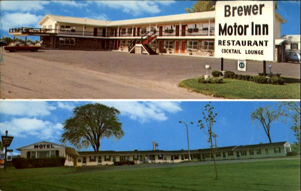 Brewer motor inn u s 1a 354 359 wilson street for Motor city bangor maine
