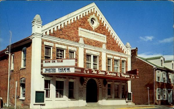 The Barter Theatre Abingdon Virginia