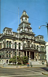 Muskingum County Courthouse, Corner Fourth and Main Streets