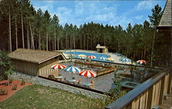Terrace Snack Bar & Swimming Pool At Hocking Hills Lodge, Rt. 374