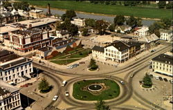 An Aerial View Of The Troy