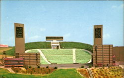 Ohio's First Outdoor / Drama Theater Postcard