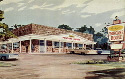 Typical Perkins Pancake House Postcard