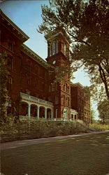 College Hall, Lake Erie College Postcard