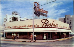 Parham's Restaurant, 73rd and Collins Ave Postcard